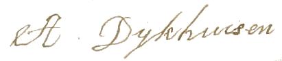 handtekening abeltje dijkhuizen